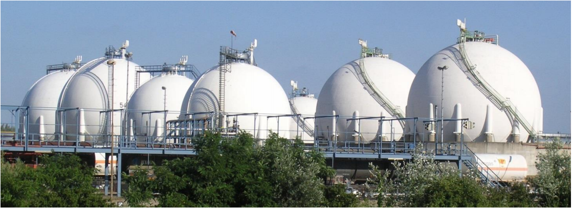 Gas Detection at Tank Farms app note
