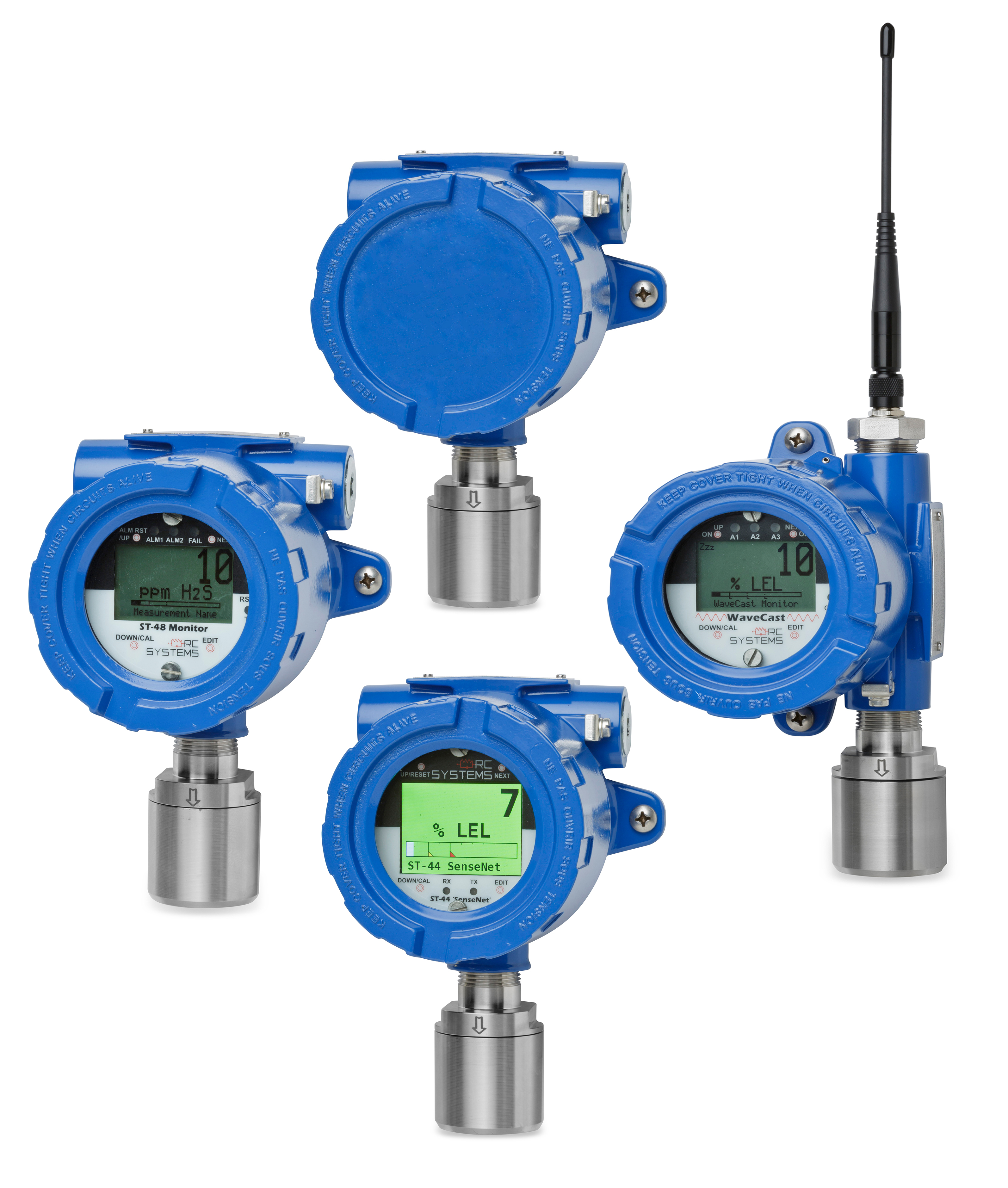 Remote Sensors and Gas Detectors