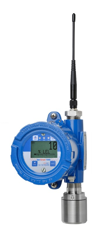 SenSmart 7000 Wireless Gas Detector Options