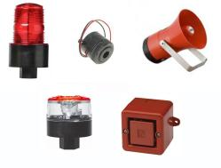 Alarm Options - red lights, sirens, and horns