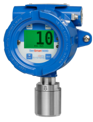 SenSmart 5100 EC Gas Detector in an Aluminum Enclosure