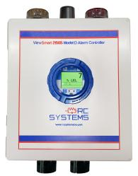 Custom made specialty alarm controller from RC Systems
